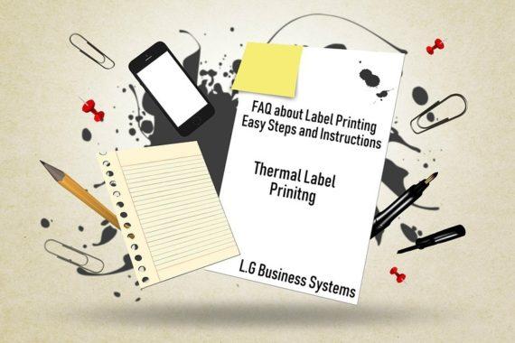 FAQ label printing