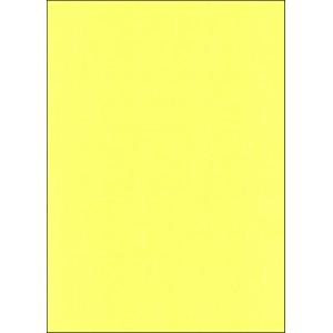 A4 YELLOW CARBONLESS PAPER - BOTTOM COPY (CF)