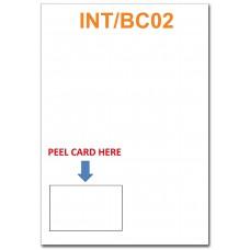 INTEGRATED BUSINESS CARDS - BOTTOM LEFT CORNER