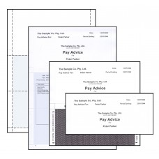 A4 SELF SEAL LASER PAY ENVELOPE - Z FOLD