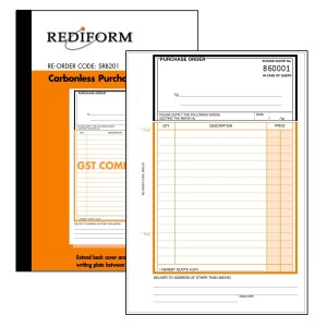 REDIFORM PURCHASE ORDER BOOK - SMALL - 2PLY