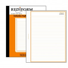REDIFORM FEINT RULED BOOK - LARGE - 2 PLY