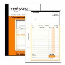 REDIFORM DELIVERY/INVOICE BOOK - SMALL - 2 PLY