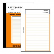 REDIFORM FEINT RULED BOOK - SMALL - 3 PLY