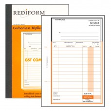 REDIFORM DELIVERY/INVOICE BOOK - SMALL - 3 PLY
