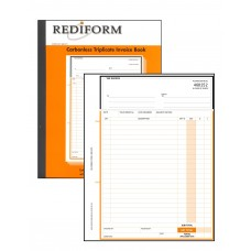 REDIFORM DELIVERY/INVOICE BOOK - LARGE - 3 PLY