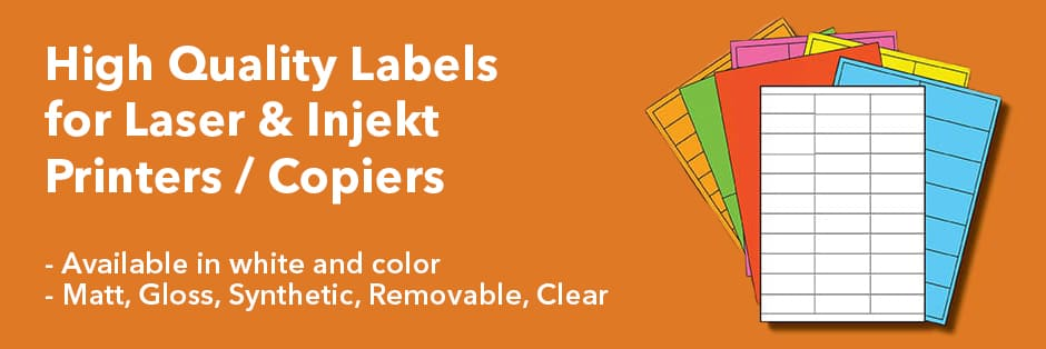 A4 Laser Labels