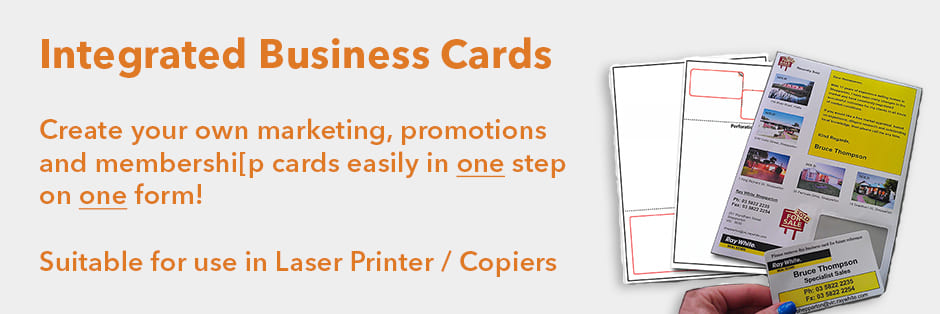 Integrated Business Cards