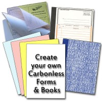 Carbonless Copy Paper and Books