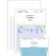 A4 PRESSURE SEAL LASER PAY ENVELOPE - Z FOLD